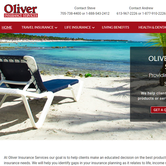 oliverinsuranceservices.com
