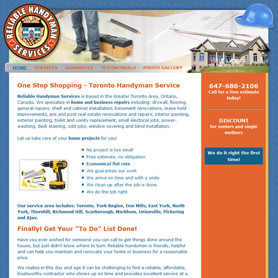 thereliablehandyman.ca